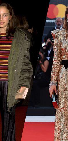 Retour sur la transformation mode de l'élégante Natalie Portman