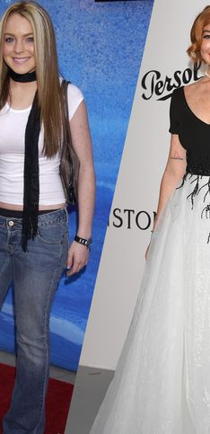 Lindsay Lohan : retour sur son incroyable métamorphose