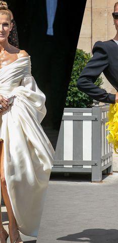 Céline Dion nous offre un véritable défilé de mode lors de la Fashion Week parisienne