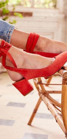 40 chaussures hautes en couleurs pour un look vitaminé