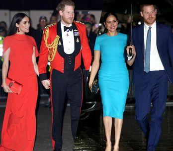 La tournée d'adieu de Meghan Markle et du prince Harry en images