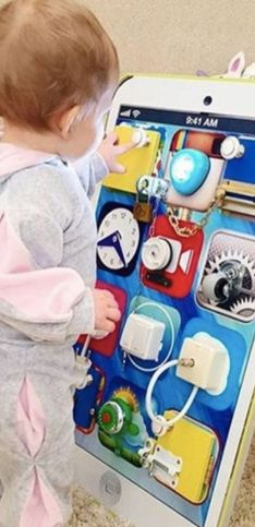 30 idées pour fabriquer un busy board pour bébé