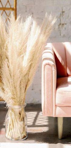 20 idées pour succomber à l'herbe de la Pampa, tendance déco de l'été