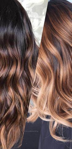 30 nuances de cheveux caramel qui nous font fondre !