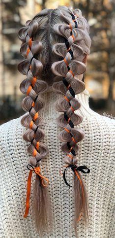 40 idées de coiffures faciles et originales pour Halloween