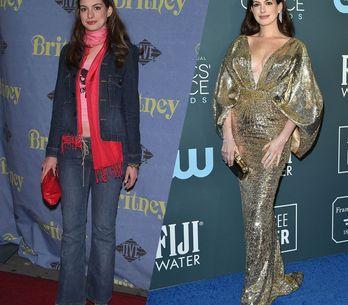 Anne Hathaway : l'évolution mode d'une actrice devenue incroyablement stylée
