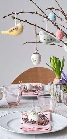 Toutes nos idées pour réaliser une jolie décoration de Pâques