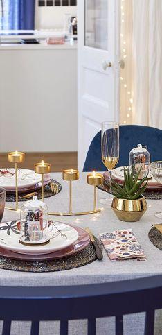 50 idées pour faire briller votre table de fêtes