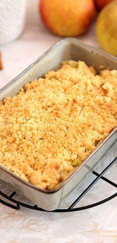 Pas-à-pas : la recette du crumble à la rhubarbe