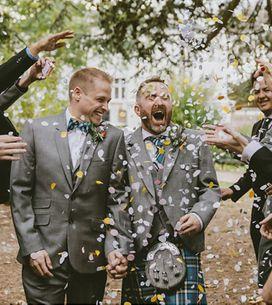 Bodas LGTBIQ+: las fotos más emotivas de sus enlaces matrimoniales