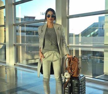 ¡Viajar será un placer! Los looks más cómodos para los días de aeropuerto