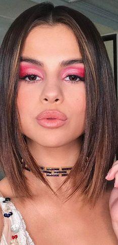 Maquillaje en tonos pink para ver la vida de color de rosa