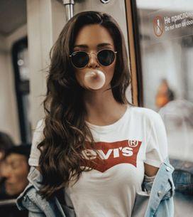 35 looks con la camiseta Levi's básica