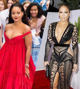 Los vestidos más sexis de las famosas