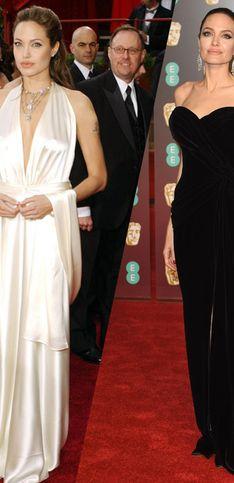 La evolución de los looks de Angelina Jolie
