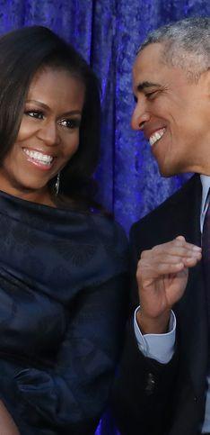 Michelle y Barack Obama: las fotos más románticas de su relación