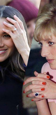 Los anillos de compromiso más bonitos de la familia real de Inglaterra