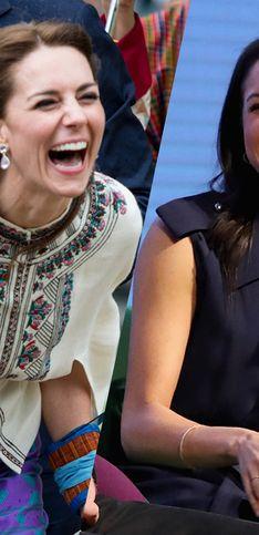 Las sonrisas más espontáneas de la familia real británica