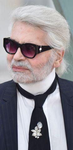 Karl Lagerfeld: su curiosa vida en imágenes