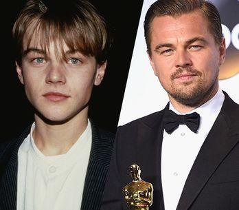 La evolución de Leonardo DiCaprio: de 'Titanic' a 'El Renacido'