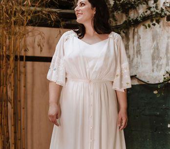 ¡Encuentra el tuyo! Vestidos de novia para chicas curvy