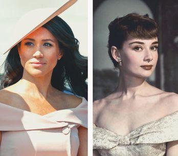 Todas las veces en las que Meghan Markle se inspiró en Audrey Hepburn