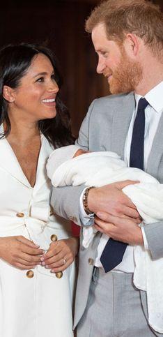 ¡Morimos de amor con las primeras fotos del bebé de Meghan y Harry!