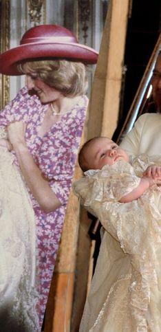 ¿Los recuerdas? Las imágenes más emotivas de todos los bautizos de la familia real británica