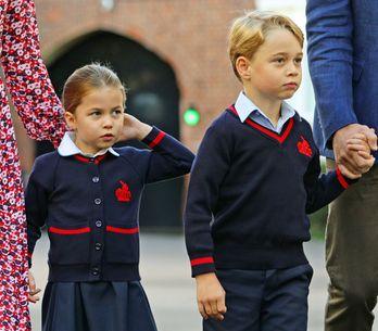 ¡George y Charlotte ya han empezado las clases! La vuelta al cole de los niños de la realeza europea