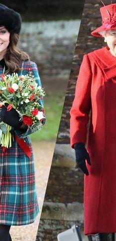Los mejores looks navideños de la familia real británica