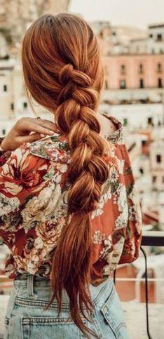 Ideas de peinados para cabello pelirrojo