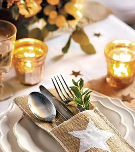 Cómo decorar la mesa de Navidad: ideas que triunfarán
