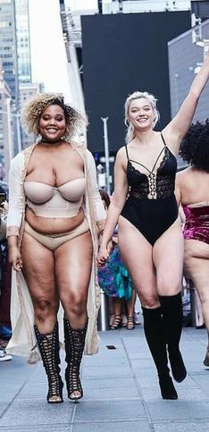 #theREALcatwalk: la sfilata in lingerie per la body positivity