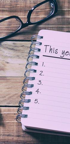 Inizia l'anno nuovo al top con questi buoni propositi!