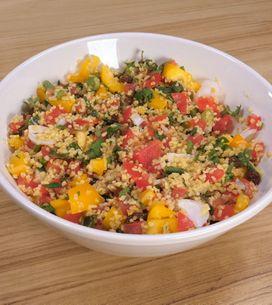 Tabulè di verdure crude: la ricetta per un fresco piatto estivo!