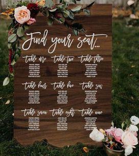 Tableau de mariage: tante idee originali per realizzarlo!