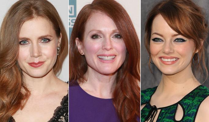 Le star con i capelli rossi: naturali o tinte? : Album di ...