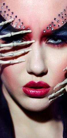 Trucco Halloween: 100 idee di make up facili da realizzare