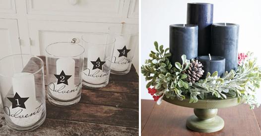 kreative adventskranz ideen die wir lieben fotoalbum. Black Bedroom Furniture Sets. Home Design Ideas