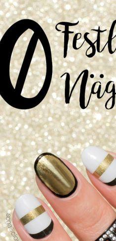 Perfekt für jede Party: 50 festliche Motive für deine Nägel