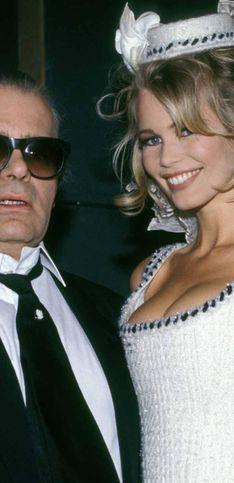 Karl Lagerfeld: Das waren die Musen des Modezaren