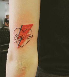 Tatuagens inspiradas em David Bowie⚡