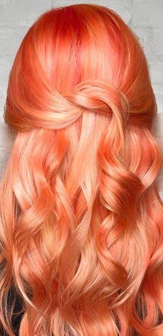 Oi, cabelo tangerina!