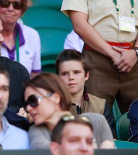Celebrities Sit Courtside At Wimbledon
