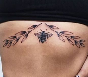 50 Of The Prettiest Sternum Tattoos