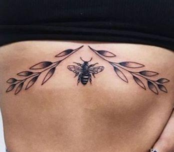 50 Of The Prettiest Sternum Tattoos