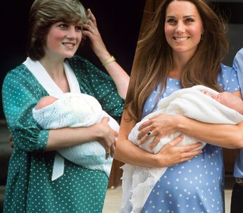Lady Diana VS Kate Middleton: the looks in comparison