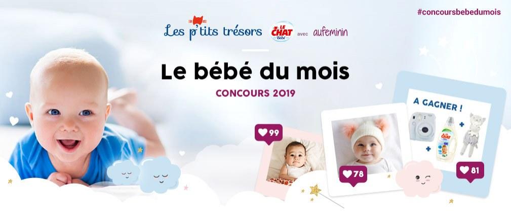"""Participez au concours<br /> """"Le bébé du mois"""""""