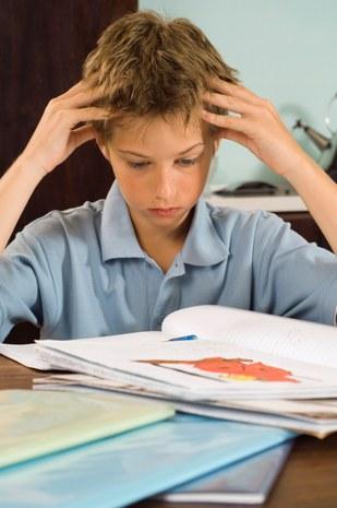 Quand les devoirs posent problème © Pixland