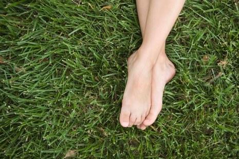 Transpiration des pieds © Jupiter Images